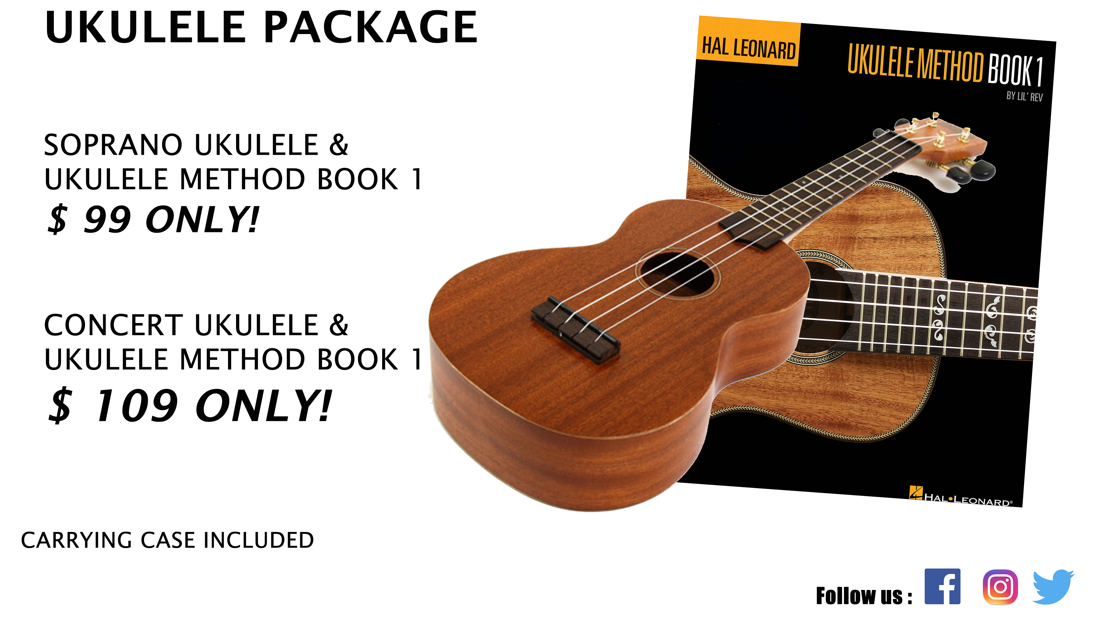Ukulele Package