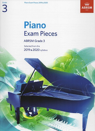 ABRSM Selected Piano Examination Pieces 2019-2020 Grade 3 (Book Only)