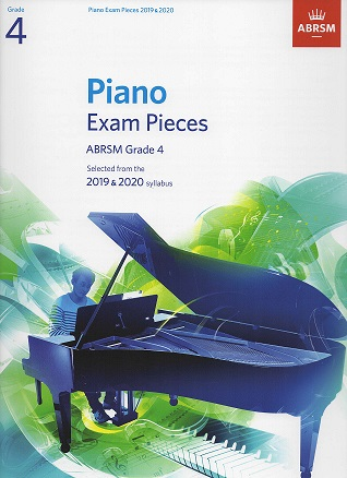 ABRSM Selected Piano Examination Pieces 2019-2020 Grade 4 (Book Only)