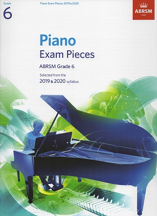 ABRSM Selected Piano Examination Pieces 2019-2020 Grade 6 (Book Only)