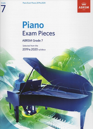 ABRSM Selected Piano Examination Pieces 2019-2020 Grade 7 (Book Only)