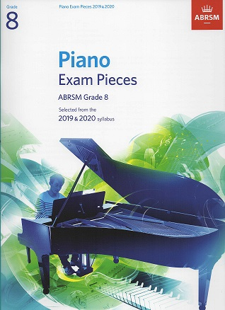 ABRSM Selected Piano Examination Pieces 2019-2020 Grade 8 (Book Only)